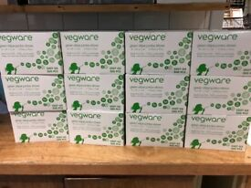 CATERING & EVENTS - 12 Boxes of Vegware Compostable Jumbo Straws (3600 straws in total) CATERING