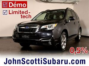 2017 Subaru Forester Limited Technologie