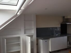 Studio, new kitchen new bathroom. All bills included and free WiFi. 4 minto train and buses.
