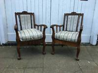 Very solid strongbow vintage chairs