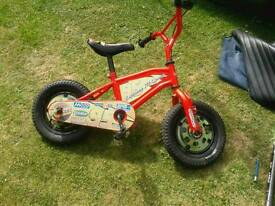 CHILDS BIKE ONE OF FOUR 15- £35