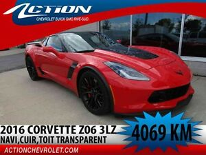 2016 CHEVROLET CORVETTE COUPE Z06 ZL3,NAVI,TOIT TRANSPARENT