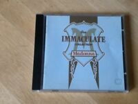 Madonna 'the immaculate collection' greatest hits CDs, 50p