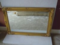 Large ornate mirror 3ft x 2ft