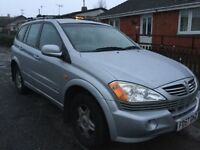 2007/57 Ssangyong Kyron SE 12 Months M.O.T Low Mileage 73k Excellent Condition