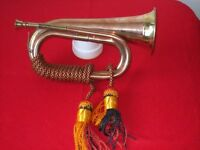 BUGLE WITH MOUTH PIECE