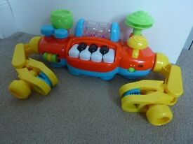 MotherCare Light & Sounds Musical Buggy Bar -- Like New