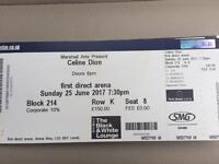 Celine Dion Tickets Leeds 25th June