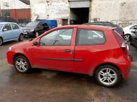 FIAT PUNTO SPORTING 1242cc (188A4.000) petrol breaking for parts
