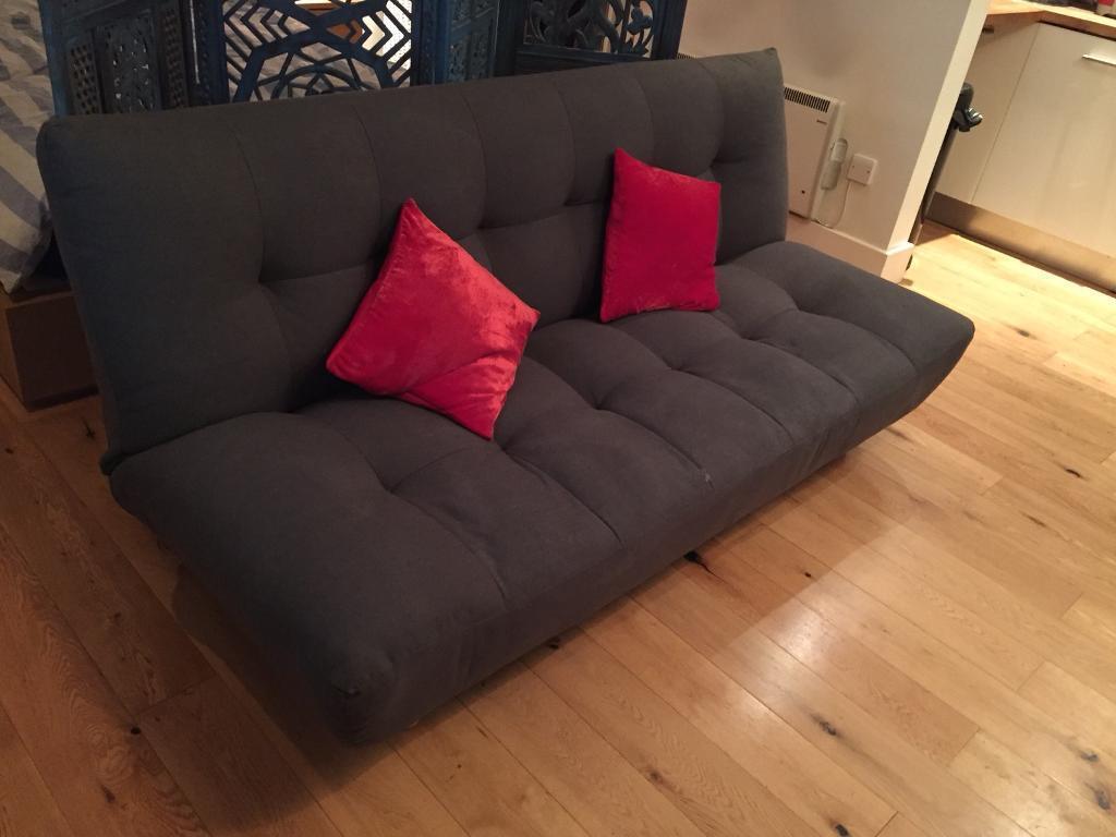 Habitat Kota Sofa Bed Charcoal Perfect Condition
