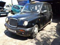 London Taxi Black cab, TX1.