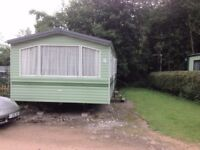 3 Bed holiday Caravan for Sale Peak District
