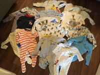 3-6 month sleep suits (boys)