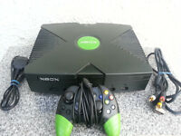 Original xbox with xbmc, apps and extras