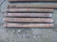 7 Antique Cast Iron Window Sash Weights Good to weight gazebos tents down Weymouth