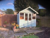 Garden summerhouse/shed 8ft x 5ft