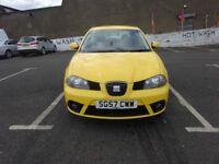 2007 SEAT IBIZA 1.2 FULL SERVICE HISTORY, FULL YEAR MOT, DRIVE SPOT ON