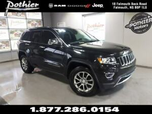 2014 Jeep Grand Cherokee Limited | LEATHER | NAV | 8.4 TOUCHSCRE