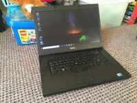 Dell Precision M4500 Laptop, Fast Core i5. Windows 10
