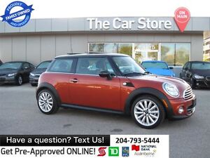 2012 MINI Cooper SUNROOF, LEATHER, HTD SEAT - premium