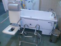 Arjo malibu bath fully working, serviced last year , good condition