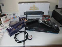 Starsinger 6000 karaoke system with microphones tv/monitor and many discs etc.