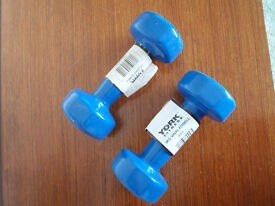 York Fitness dumbells