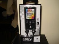 Sony NWZE384 8GB Walkman Video MP3 Player - Black