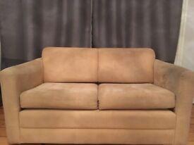 Beige Sofa-Bed