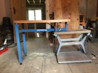 Original Workmate bench with rare Team mate extension bench. Very good condition
