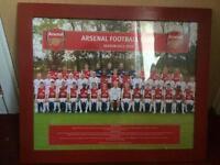 Arsenal season 2011-2012 framed team photo