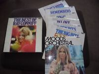 7 Vinyl LP Box Set of orchestral music from Ray Conniff.