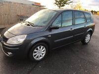 2008 RENAULT SCENIC GRAND 2.0 DCI DIESEL 6 SPEED 7 SEATER 1 OWNER CAR CLEAN ALL ROUND