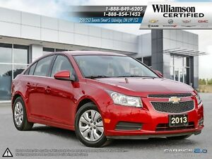 2013 Chevrolet Cruze LT TURBO**RMT START**BLUETOOTH