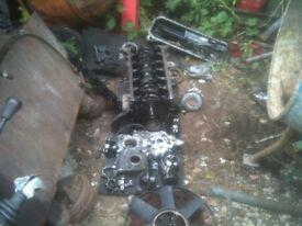 bmw range rover 2.5 turbo diesel block pistons crank all good