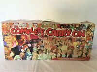 Vintage 1998 COMPLETE CARRY ON BOX SET 30 VHS + 28 Cinema Postcards