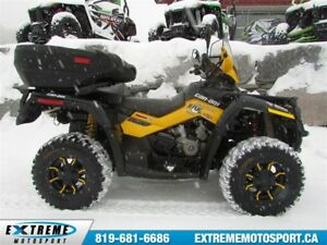 2011 Can-Am Outlander Max 800 XT-P Plus de 5000$ en modification