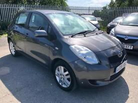 TOYOTA YARIS TR 1.3 VVT-I 5 DOOR 2008 /ONLY ONE LADY OWNER /2 KEYS /10 MONTHS MOT /FSH /HPI CLEAR