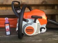 Stihl MS211 C-BE Chainsaw.