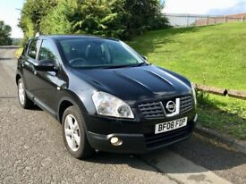 Nissan Qashqai Tekna 4WD 4x4 DCI *12 Months Mot* Huge Spec *Heated Leather Pan Roof!* Not micra juke