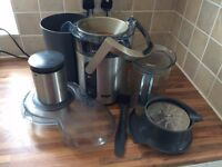 Sage Juicer Plus+ - Excellent Juicer w Fruit Juicer Attachment