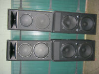 DISCO DJ SPEAKER CABS (eminence speakers)