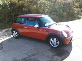 Mini Cooper 1.6L 7 months MOT just had a service drives great