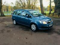 ZAFIRA 2008/1.6 BRILLIANT CONDITION/1 YEAR FULL MOT/1 OWNER/2 KEYS/FUL SERVICE/HPI CLER/RUN LIKE NEW