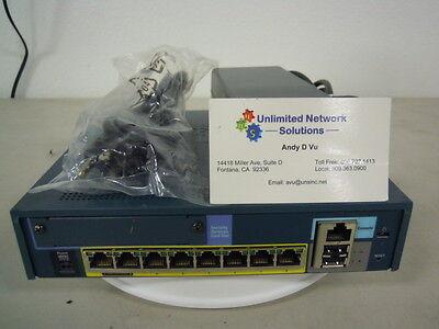 Cisco Asa5505 Sec Bun K9 Security Plus  Unlimited Users  25 Vpn  Anyconnect