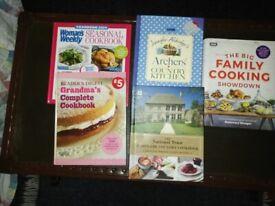 BRAND NEW COOKERY BOOKS