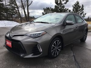 2017 Toyota Corolla XSE - Off-Lease / No Accidents / TCUV