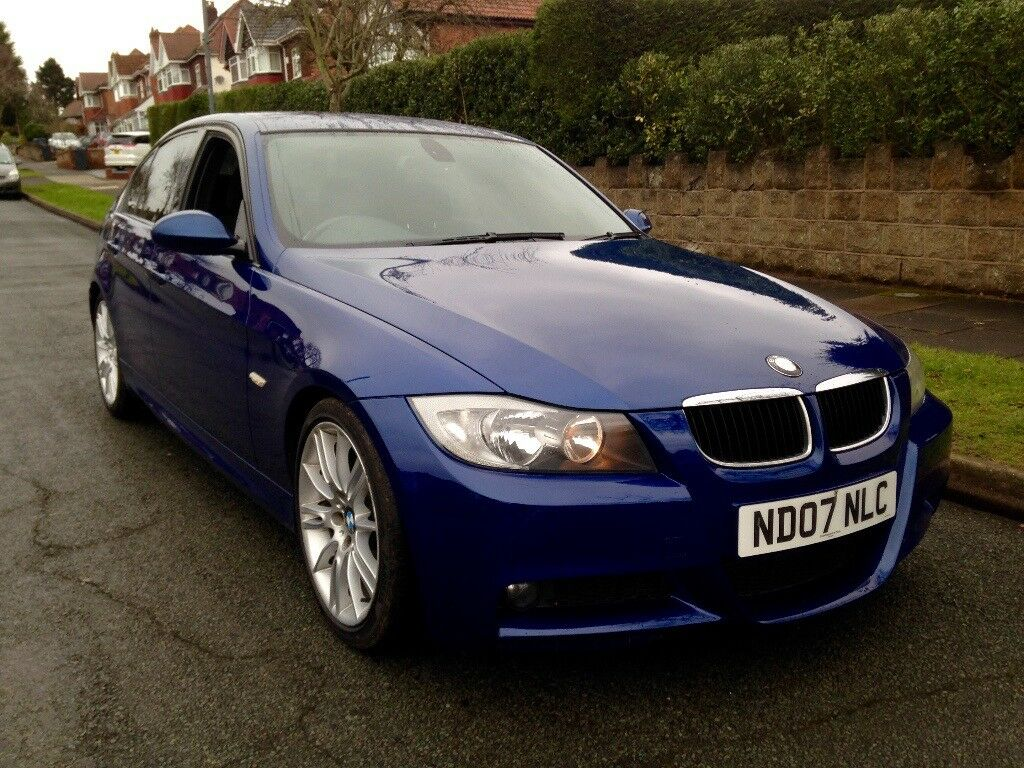 2007 bmw 325d m sport le mans blue 4dr sh 2 keys. Black Bedroom Furniture Sets. Home Design Ideas