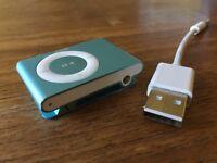 iPod Shuffle 2GB 2nd Generation Light Blue