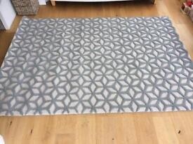 Stella Tufted Rug from MADEcom in Ash Grey